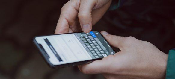 تطبيق على الهاتف الذكي